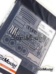 Studio27: Photo-etched parts 1/24 scale - Ferrari 550 Maranello