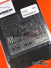 Studio27: Photo-etched parts 1/24 scale - Ferrari 575M Maranello