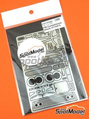 Studio27: Photo-etched parts 1/24 scale - Ferrari F40 Competizione