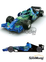 Studio27: Model car kit 1/20 scale - Honda RA107 #7 2007 - resin multimaterial kit - for Studio27 kit