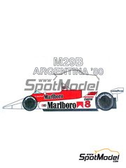 Studio27: Model car kit 1/20 scale - McLaren M29B - Argentine Grand Prix 1980 - resin multimaterial kit