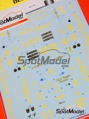 Tabu Design: Decals 1/20 scale - Lotus Type 97T full sponsor