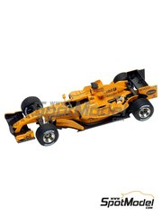 Tameo Kits: Marking / livery 1/43 scale - McLaren MP4/20 - Pedro de la Rosa (ES), Gary Paffett (GB) - Test version 2006 - water slide decals - for Tameo Kits kit SLK029