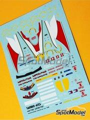 Tameo Kits: Marking 1/43 scale - Lotus Ford 107b Castrol #11, 12 - Johnn 'Johnny' Herbert (GB), Alessandro 'Alex' Zanardi (IT) - European Grand Prix 1993 - for Tameo Kits kit TMK165
