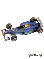 Tameo Kits: Marking / livery 1/43 scale - Sauber Petronas C16 Petronas - Johnn 'Johnny' Herbert (GB), Gianni Morbidelli (IT) - Hungary Grand Prix 1997 - water slide decals - for Tameo Kits kit TMK244
