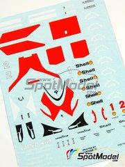 Tameo Kits: Marking / livery 1/43 scale - McLaren Tag MP4/3 Marlboro #1, 2 - Alain Prost (FR), Stefan Johansson (SE) - Portuguese Formula 1 Grand Prix 1987 - water slide decals - for Tameo Kits reference TMK289
