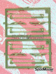 Tameo Kits: Detail 1/43 scale - Wiper blade - photo-etch - 4 units