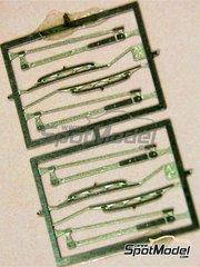 Tameo Kits: Detail 1/43 scale - Wiper blade - photo-etch - 4 units