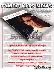 Tameo Kits: Book - Ayrton Senna Always: Photographics portfolio image