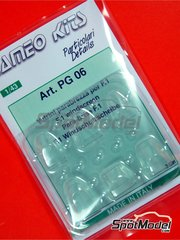 Tameo Kits: Detail 1/43 scale - Windscreen for F1