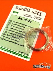 Tameo Kits: Material - Tinned cooper wire 0,51mm diameter image