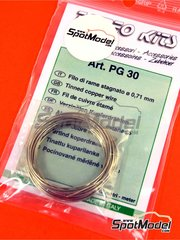 Tameo Kits: Material - Tinned cooper wire 0,71 mm diameter image