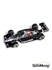 Tameo Kits: Model car kit 1/43 scale - Lola Chevy T89 Valvoline #2 - Alfred 'Al' Jr. Unser (US) - Indy 1989 - photo-etched parts, turned metal parts, water slide decals, white metal parts and assembly instructions