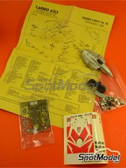 Tameo Kits: Model car kit 1/43 scale - Penske Chevy PC18 Marlboro #25 - Alfred 'Al' Jr. Unser (US) - Indy 1989 - photo-etched parts, turned metal parts, water slide decals, white metal parts and assembly instructions