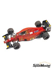 Tameo Kits: Model car kit 1/43 scale - Ferrari F1/89 Marlboro #27,28 - Nigel Ernest James Mansell (GB), Gerhard Berger (AT) - Hungary Grand Prix 1989 - photo-etched parts, turned metal parts, water slide decals, white metal parts and assembly instructions