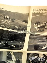 Tameo Kits: Model car kit 1/43 scale - Reynard 89D Cosworth F3000 Cavendish Madgwick Motosport #16, 17 - Thomas Danielsson (SE), Gary Evans (GB) 1989 - photo-etched parts, turned metal parts, water slide decals, white metal parts and assembly instructions