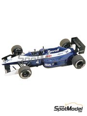 Tameo Kits: Model car kit 1/43 scale - Tyrrell Ilmor 020b ELF #4, 5 - Andrea de Cesaris (IT), Olivier Grouillard (FR) - Mexican Grand Prix 1992 - photo-etched parts, turned metal parts, water slide decals, white metal parts and assembly instructions