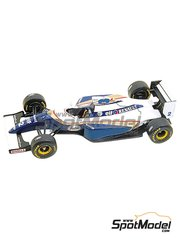 Tameo Kits: Model car kit 1/43 scale - Williams Renault FW16 ELF #0, 2 - Damon Hill (GB), Ayrton Senna (BR) - Brazilian Grand Prix 1994 - photo-etched parts, turned metal parts, water slide decals, white metal parts and assembly instructions