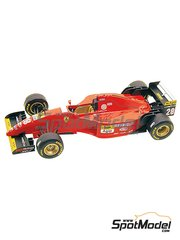 Tameo Kits: Model car kit 1/43 scale - Ferrari 412T2 Marlboro #27, 28 - Jean Alesi (FR), Gerhard Berger (AT) - Brazilian Formula 1 Grand Prix 1995 - photo-etched parts, turned metal parts, water slide decals, white metal parts and assembly instructions