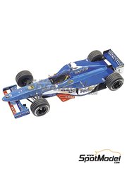 Tameo Kits: Model car kit 1/43 scale - Benetton Playlife B198 Mild Seven #5, 6 - Giancarlo Fisichella (IT), Alexander Wurz (AT) - Australian Formula 1 Grand Prix 1998 - photo-etched parts, turned metal parts, water slide decals, white metal parts and assembly instructions