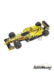Tameo Kits: Model car kit 1/43 scale - Jordan Mugen Honda 199 Benson & Hedges #7, 8 - Heinz-Harald Frentzen (DE), Damon Hill (GB) - Italian Grand Prix 1999 - photo-etched parts, turned metal parts, water slide decals, white metal parts and assembly instructions