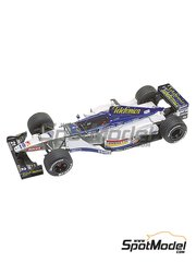 Tameo Kits: Model car kit 1/43 scale - Minardi Ford M01 Telefonica #20, 21 - Luca Badoer (IT), Marc Gene (ES) - European Formula 1 Grand Prix 1999 - photo-etched parts, turned metal parts, water slide decals, white metal parts and assembly instructions