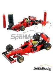 Tameo Kits: Model car kit 1/43 scale - Ferrari F310B Marlboro #5, 6 - Michael Schumacher (DE), Eddie Irvine (GB) - Japanese Formula 1 Grand Prix 1997 - photo-etched parts, turned metal parts, water slide decals, white metal parts and assembly instructions
