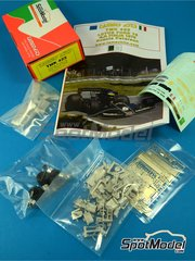 Tameo Kits: Model car kit 1/43 scale - Lotus Ford Type 78 John Player Special #6 - Ronnie Peterson (SE) - Italian Grand Prix 1978 - photo-etched parts, turned metal parts, water slide decals, white metal parts and assembly instructions