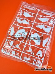 Tamiya: Spare part 1/12 scale - Honda RC213V: A parts (except A27) - plastic parts - for Tamiya reference TAM14130