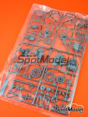 Tamiya: Spare part 1/12 scale - Kawasaki Ninja H2R: B Parts - plastic parts - for Tamiya reference TAM14131