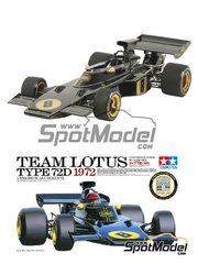 Tamiya: Model kit 1/25 scale - Lotus 72D