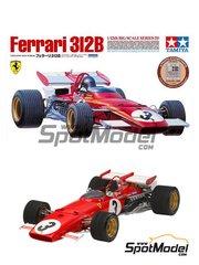 Tamiya: Model kit 1/25 scale - Ferrari 312B