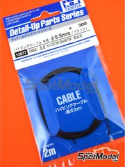 Tamiya: Piping cord - Black wire 0.8mm - other materials