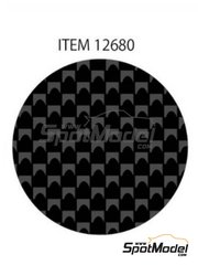 Tamiya: Decals - Plain weave extra fine carbon pattern