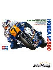 Tamiya: Maqueta de moto escala 1/12 - Honda NS500