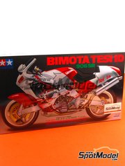 Tamiya: Model bike kit 1/12 scale - Bimota Tesi 1D 906 SR - plastic model kit