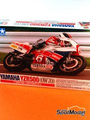 Tamiya: Model bike kit 1/12 scale - Yamaha YZR500 OW70 #6 - Tadahiko Taira (JP) 1987
