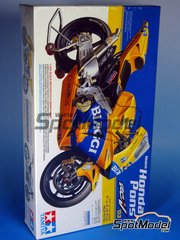 Tamiya: Model bike kit 1/12 scale - Honda RC211V Honda Pons 2003