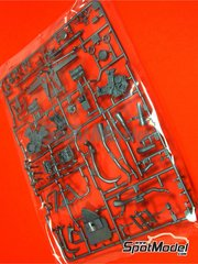 Tamiya: Spare part 1/12 scale - Ducati Desmosedici GP3: Sprue B - plastic parts - for Tamiya references TAM14101 and 14101