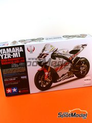 Tamiya: Model bike kit 1/12 scale - Yamaha YZR-M1 Motul #46 - Valentino Rossi (IT) - Spanish Grand Prix 2005 - plastic kit