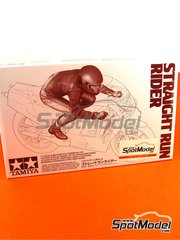 Tamiya: Figure 1/12 scale - Straight run rider - plastic model kit