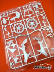 Tamiya: Spare part 1/12 scale - Yamaha YZF-R1M: Sprue A - plastic parts - for Tamiya references TAM14133, 14133, HC-14133, 4950344141333 and TMY14133