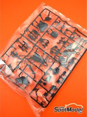 Tamiya: Spare part 1/12 scale - Yamaha YZF-R1M: Sprue D - plastic parts - for Tamiya references TAM14133, 14133, HC-14133, 4950344141333 and TMY14133