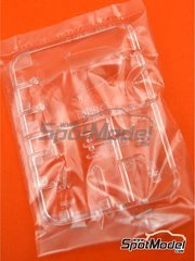Tamiya: Spare part 1/12 scale - Yamaha YZF-R1M: Sprue E - plastic parts - for Tamiya references TAM14133, 14133, HC-14133, 4950344141333 and TMY14133