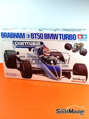 Tamiya: Model car kit 1/20 scale - Brabham BT50 BMW Turbo