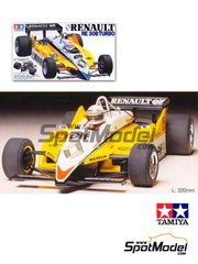 Tamiya: Model car kit 1/20 scale - Renault Turbo RE30B