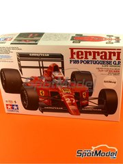 Tamiya: Model car kit 1/20 scale - Ferrari F189 Agip Fiat #27, 28 - Nigel Ernest James Mansell (GB), Gerhard Berger (AT) - FIA Formula 1 World Championship 1989 - plastic model kit