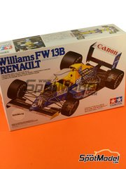 Tamiya: Model car kit 1/20 scale - Williams Renault FW13B Canon #5, 6 - Riccardo Patrese (IT), Thierry Boutsen (BE) - FIA Formula 1 World Championship 1990 - plastic model kit