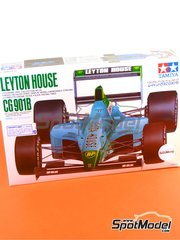 Tamiya: Model car kit 1/20 scale - Leyton House Judd CG901B Carglass #15, 16 - Ivan Capelli (IT), Mauricio Gugelmin (BR) - FIA Formula 1 World Championship 1990 - plastic model kit