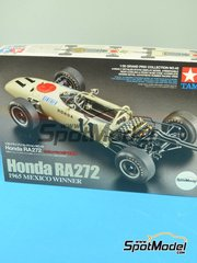Tamiya: Model car kit 1/20 scale - Honda RA272 #11, 12 - Ronnie Bucknum (US), Richie Ginther (US) - Mexican Grand Prix 1965 - plastic model kit
